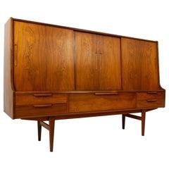 Vintage Danish Rosewood Sideboard 1960s