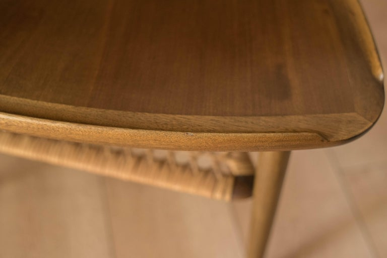 Vintage Danish Selig Triangle End Table by Poul Jensen For Sale 5