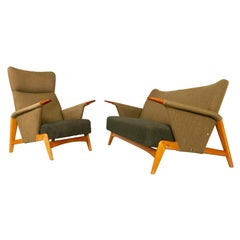 Vintage Danish Sofa Set by Arne Hovmand-Olsen, 1950s