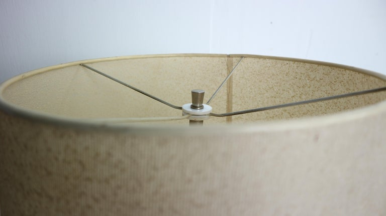 Vintage Danish Solid Teak and Leather Table Lamp from ESA, 1960s For Sale 9