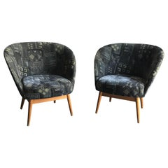 Vintage Danish Style Armchairs, 1960s