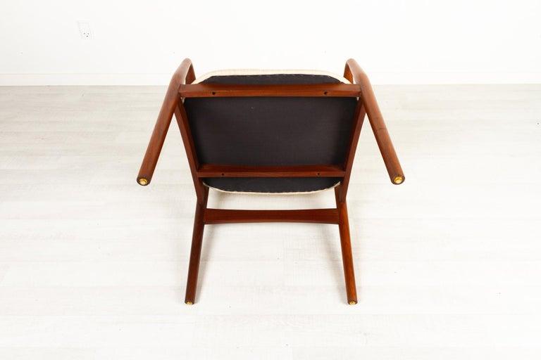 Vintage Danish Teak Armchair, 1950s For Sale 12