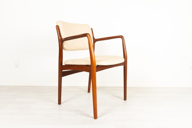 Vintage Danish Teak Armchair 1950s In Good Condition For Sale In Nibe, Nordjylland