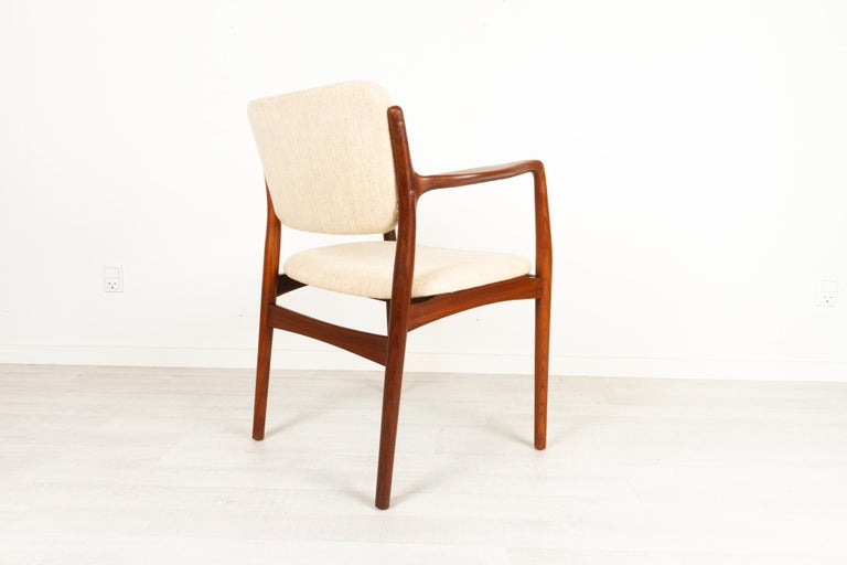 Vintage Danish Teak Armchair 1950s For Sale 1
