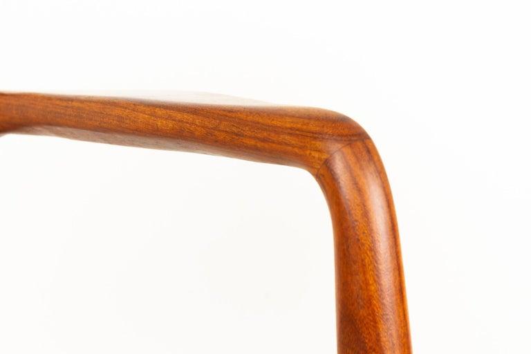 Vintage Danish Teak Armchair, 1950s For Sale 2