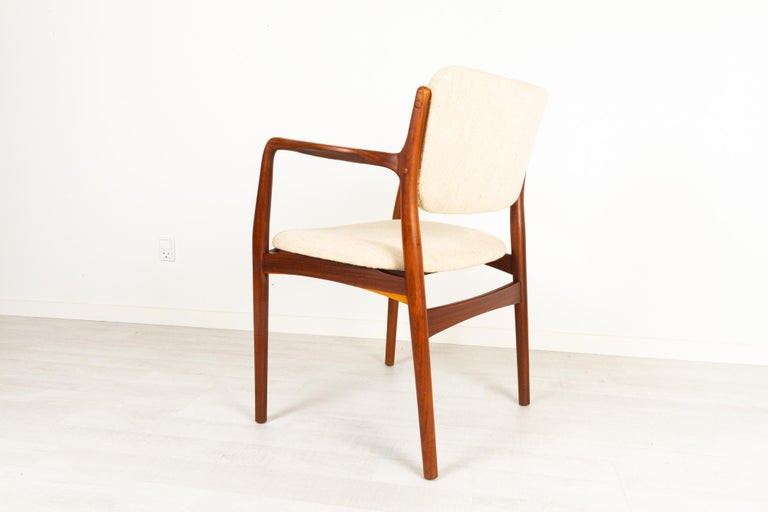 Vintage Danish Teak Armchair 1950s For Sale 2