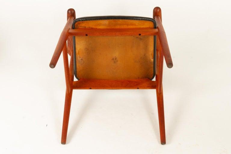 Vintage Danish Teak Armchairs GM11 by Svend Aage Eriksen 1960s Set of 8 For Sale 14