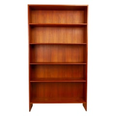 Vintage Danish Teak Bookcase by Hans J. Wegner for Ry Møbler, 1960s