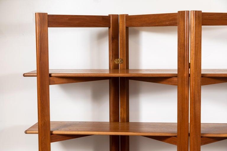 Vintage Danish teak bookshelf.