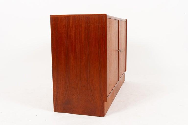 Vintage Danish Teak Cabinet 1960s For Sale 1