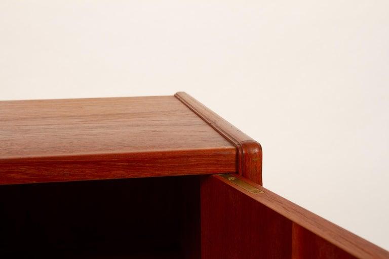 Vintage Danish Teak Cabinet 1960s For Sale 3