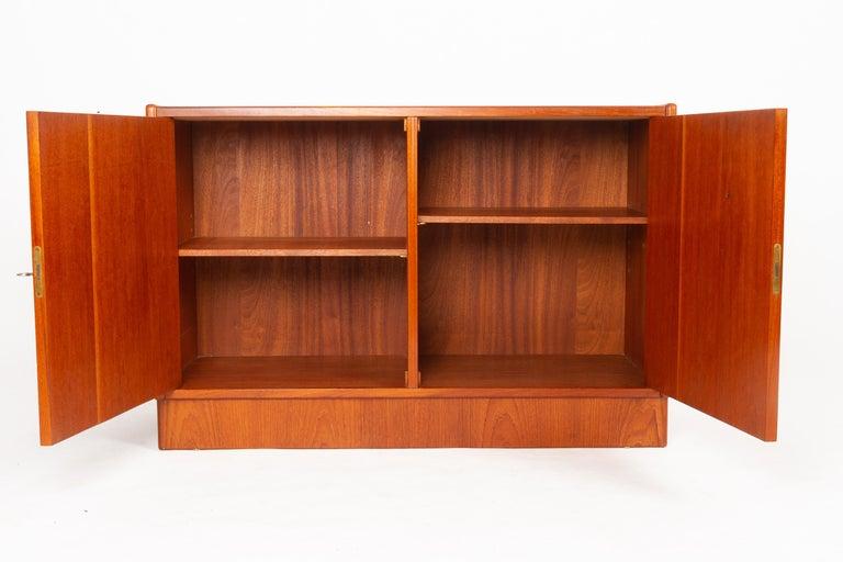 Vintage Danish Teak Cabinet 1960s For Sale 4