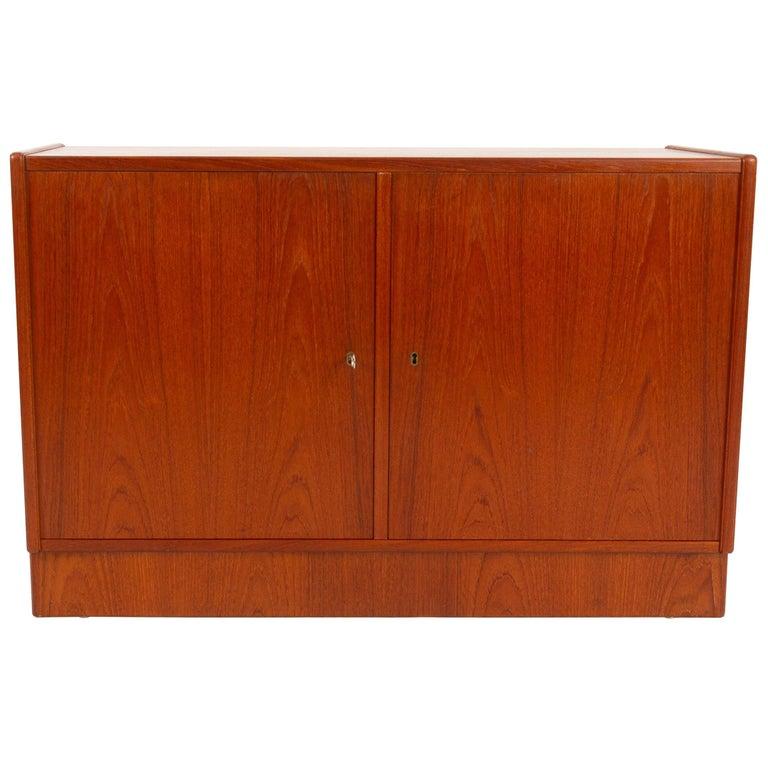 Vintage Danish Teak Cabinet 1960s For Sale