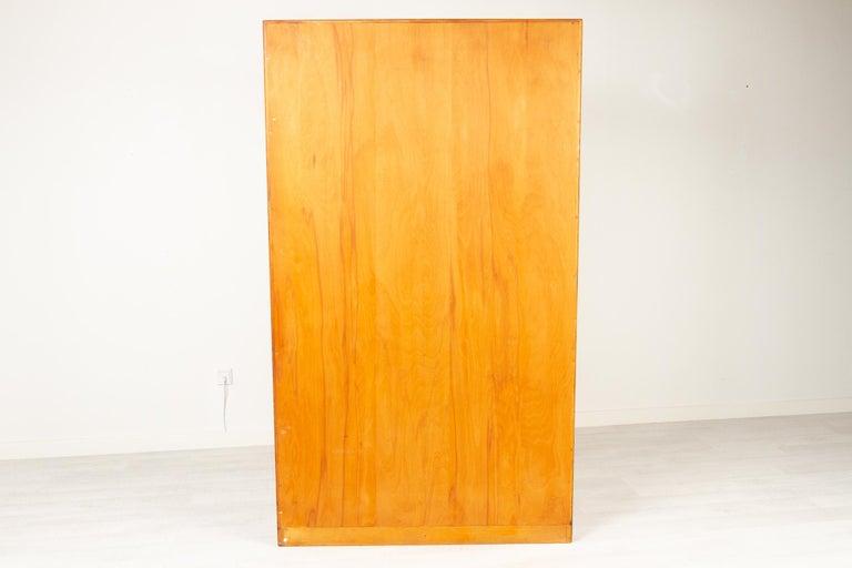 Vintage Danish Teak Cabinet with Tambour Doors, 1960s For Sale 14