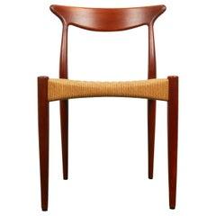 Vintage Danish Teak Chair by Arne Hovmand-Olsen for Mogens Kold, 1950s