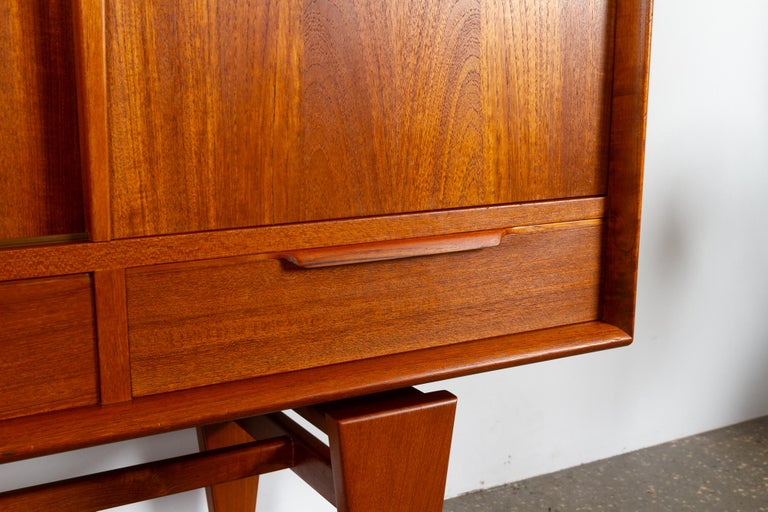 Vintage Danish Teak Credenza by ACO, 1960s For Sale 9