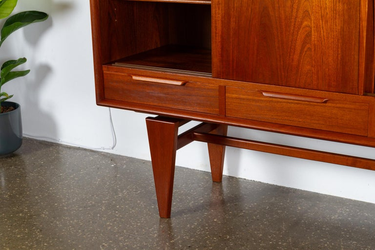 Vintage Danish Teak Credenza by ACO, 1960s For Sale 12