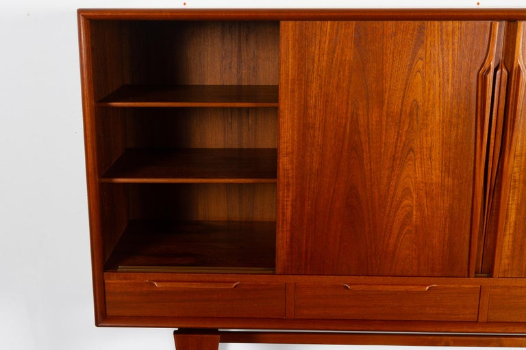 Vintage Danish Teak Credenza by ACO, 1960s For Sale 2