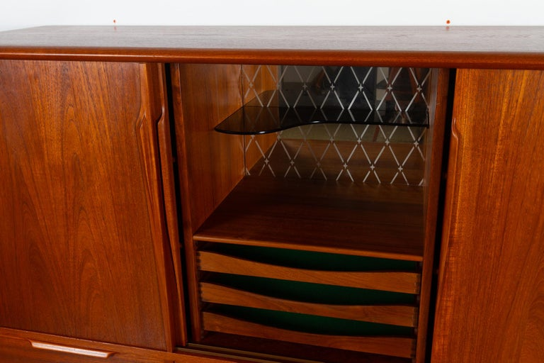 Vintage Danish Teak Credenza by ACO, 1960s For Sale 4