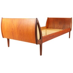Vintage Danish Teak Daybed by Sigfred Omann for Ølholm Møbelfabrik, 1960s
