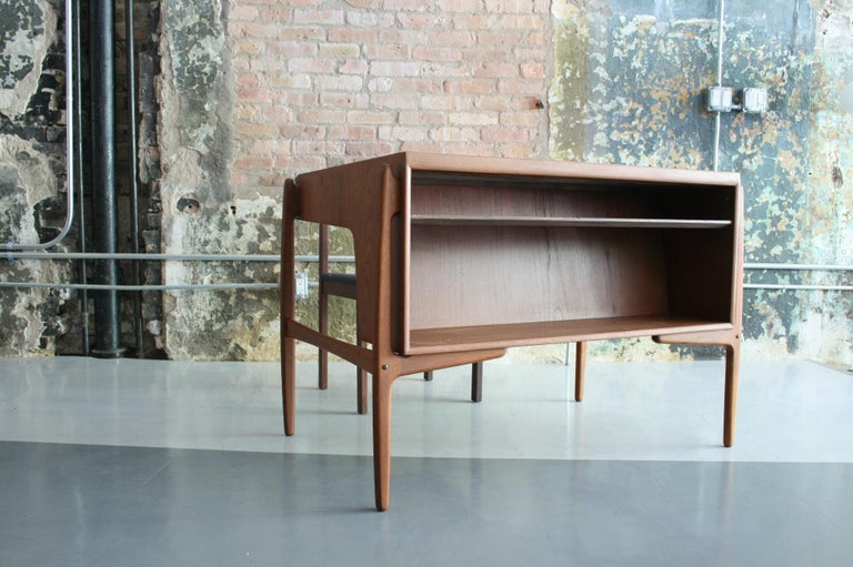 Vintage Danish Teak Desk with chair by Svend Madsen For Sale 1