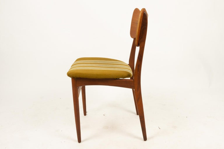 Vintage Danish Teak Dining Chairs 1960s Set of 4 For Sale 9