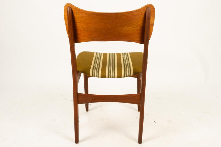 Vintage Danish Teak Dining Chairs 1960s Set of 4 For Sale 10
