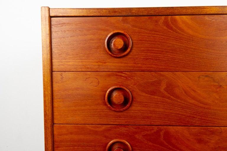 Vintage Danish Teak Dresser, 1960s For Sale 6