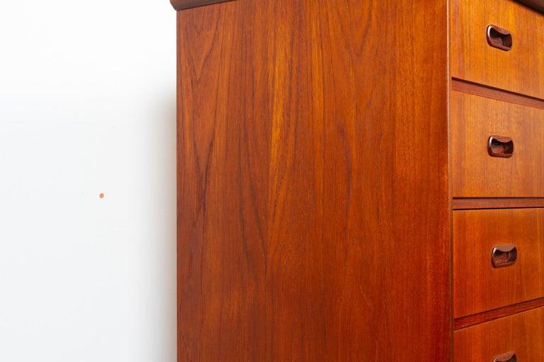 Vintage Danish Teak Dresser, 1960s For Sale 7