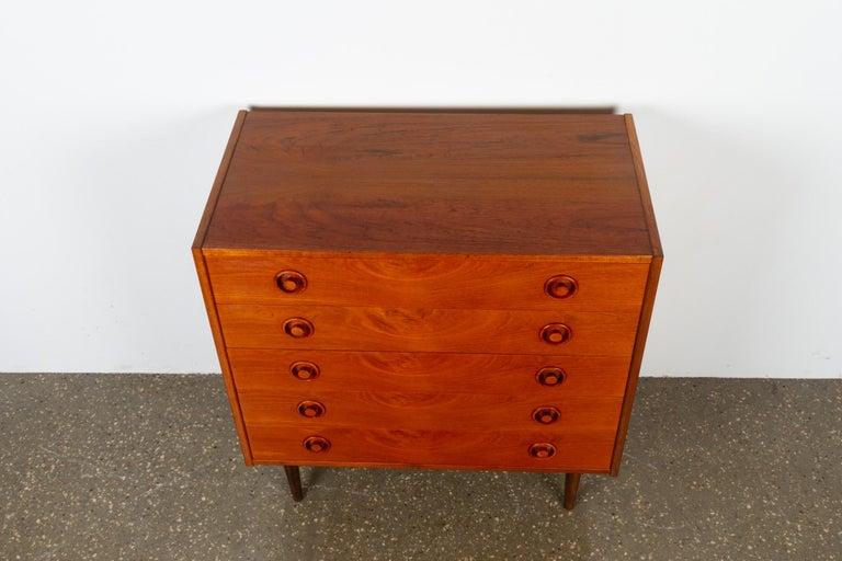 Vintage Danish Teak Dresser, 1960s For Sale 9