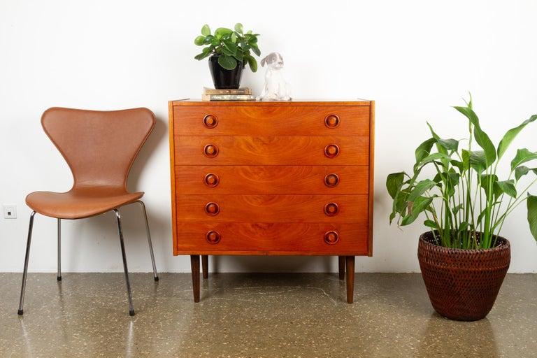 Vintage Danish Teak Dresser, 1960s For Sale 11