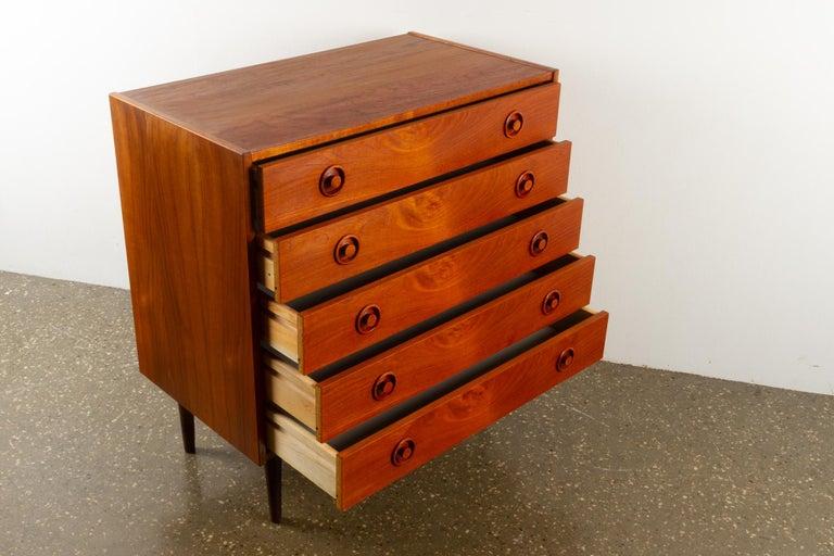 Vintage Danish Teak Dresser, 1960s For Sale 2