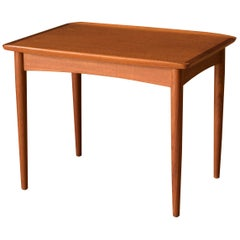 Vintage Danish Teak End Table by Møbelintarsia