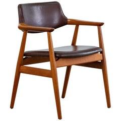Vintage Danish teak GM11 chair by Svend Age Eriksen for Glostrup, 1960s