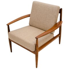 Vintage Danish Teak Lounge Chair, Grete Jalk