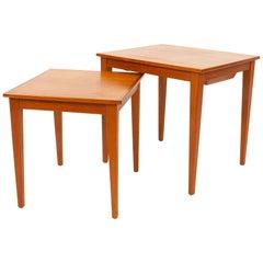 Vintage Danish Teak Nesting Tables, 1960s