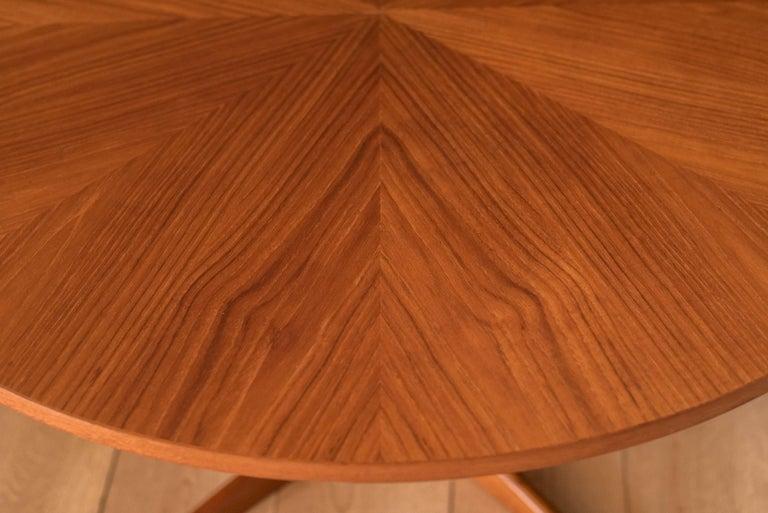 Vintage Danish Teak Occasional Coffee Table by Søren Georg Jensen for Kubus For Sale 1