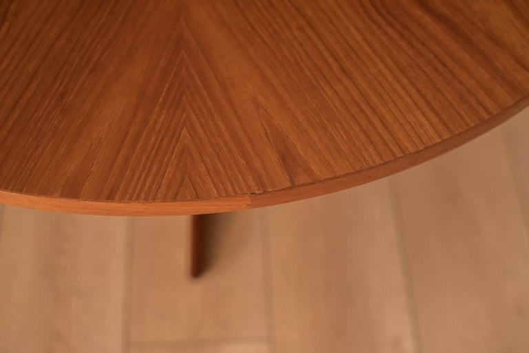 Vintage Danish Teak Occasional Coffee Table by Søren Georg Jensen for Kubus For Sale 3