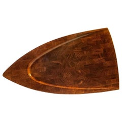 Vintage Danish Teak Serving or Cutting Board by Digsmed, 1960s