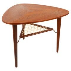 Vintage Danish Teak Side Table, 1960s