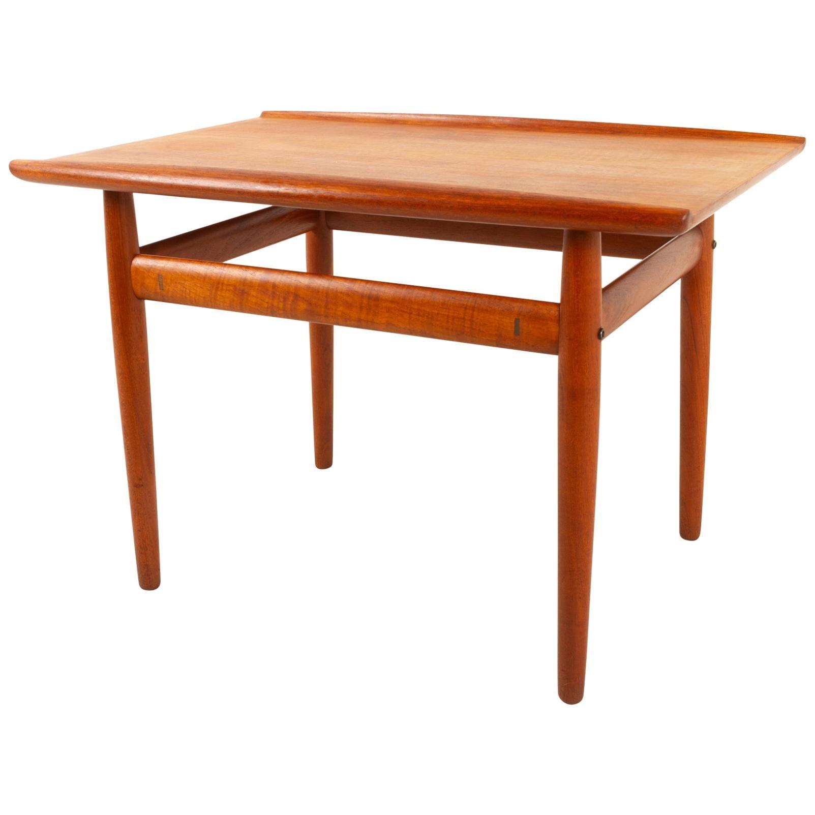 Vintage Danish Teak Side Table by Grete Jalk for Glostrup Møbelfabrik, 1960s