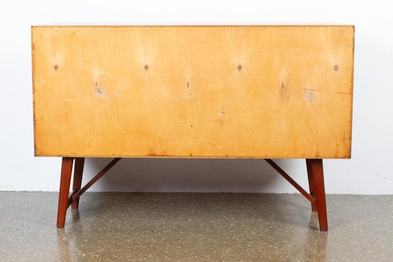 Vintage Danish Teak Sideboard, 1960s For Sale 8