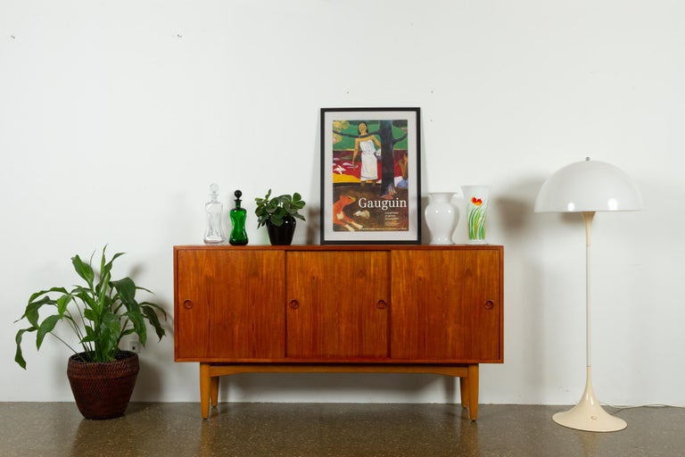 Vintage Danish Teak Sideboard, 1960s For Sale 13