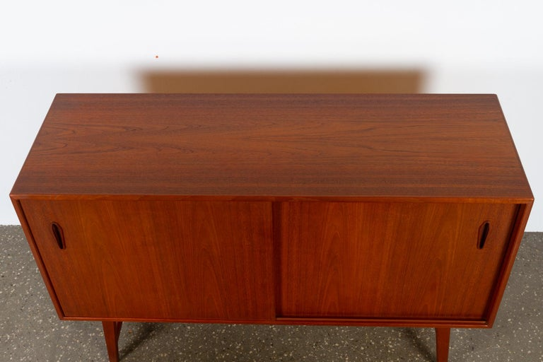 Vintage Danish Teak Sideboard, 1960s In Good Condition For Sale In Nibe, Nordjylland