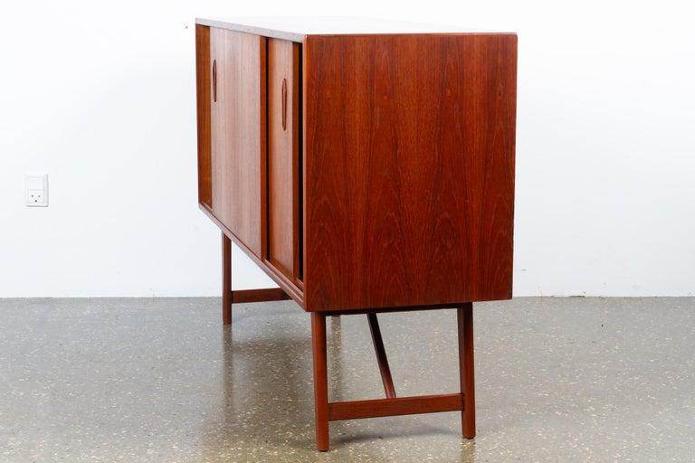 Vintage Danish Teak Sideboard, 1960s For Sale 3