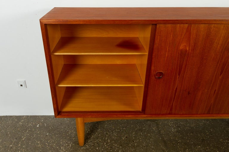 Vintage Danish Teak Sideboard, 1960s For Sale 4