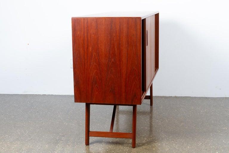 Vintage Danish Teak Sideboard, 1960s For Sale 4