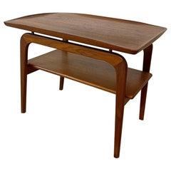 Vintage Danish Teak Table Arne Hovmandt, Olsen Mobelfabrikken Tobten