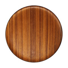 Vintage Danish Teak Tray, Beautiful Wood Grain
