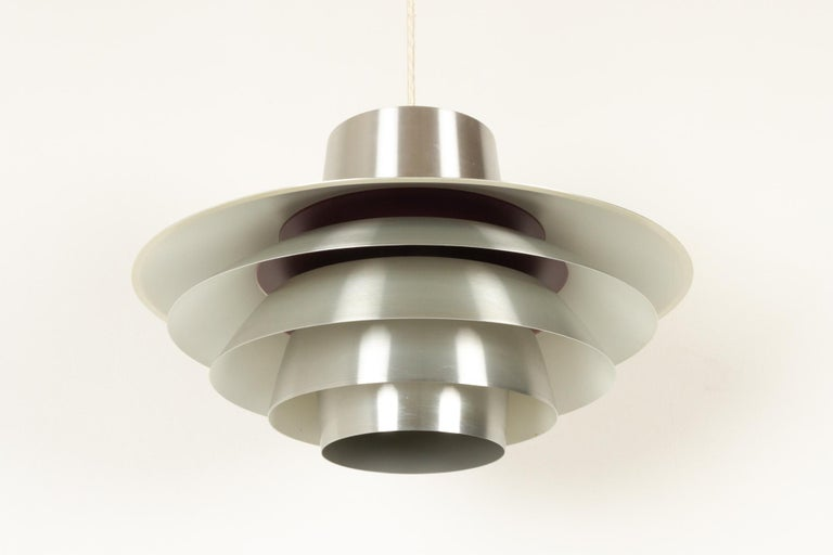 Vintage Danish Verona ceiling pendant by Svend Middelboe for Nordisk Solar, 1970s